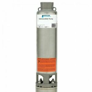 Goulds Gs Stainless Steel Series 4 3 Wire 7gpm 3hp 230v Submersible Pump