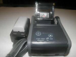 Epson M196b Tm p60 Bluetooth Mobile Thermal Pos Receipt Printer With Charger