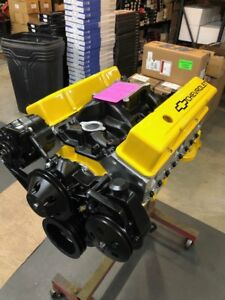 350 Street Motor 448hp Roller Turn Key Pro Street Chevy Crate Engine Sbc Cnc