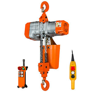 Prowinch 1 Ton Electric Chain Hoist With Wireless Remote Control System Single P