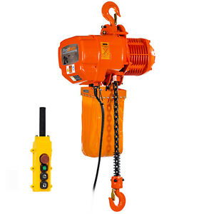 Prowinch 2 Speed 2 Ton Electric Chain Hoist 20 Ft G100 Chain M4 h3 230 380 460v
