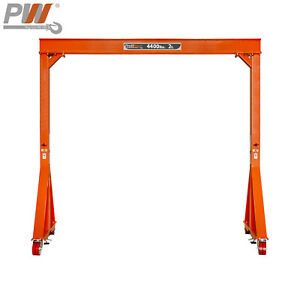 Prowinch Manual Gantry Crane 2 Ton 11 Ft Height 12 Ft Span Made In Usa