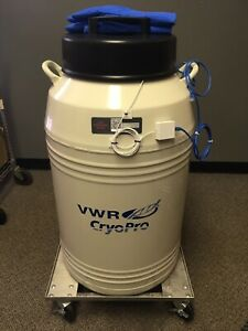 Vwr Cryopro Br 3 Cryogenic Rack System 121l 55709 212 Pre owned Excellent 2015