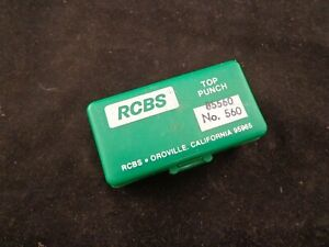 RCBS LUBE A MATIC 560 CAST LEAD BULLET LUBE SIZER TOP PUNCH ALSO FITS LYMAN 450 $11.99
