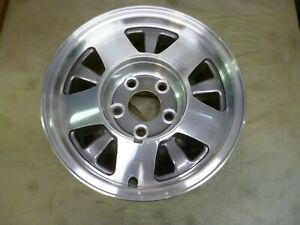 1995 1999 Chevrolet Tahoe 15 Machined And Charcoal Wheel Hollander 5016