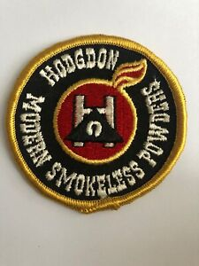 Hodgdon Modern Smokeless Powder Reloading Embroidered Patch NOS 3quot; Round $12.99