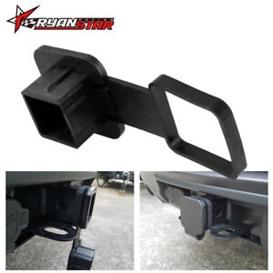 Trailer Hitch Tube Cover Plug Receiver Heavy Duty Rubber For Mercedes Jeep
