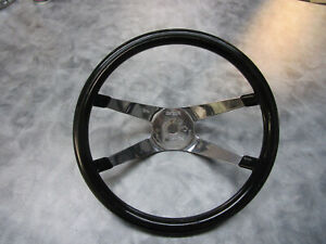 Vintage Superior 500 Steering Wheel 4 Spoke 12 Gasser Hot Rod Old School