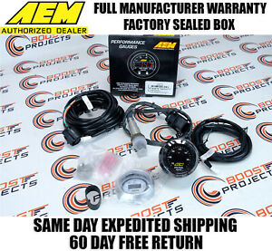Aem 30 4110 Uego Wideband O2 Air Fuel Ratio Gauge Afr 52mm With 4 9 Lsu Sensor