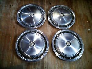 Oem Mopar Set Of 4 15 Hub Caps Wheel Covers 393b 1977 79 Chrysler Le Baron 798