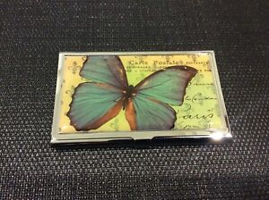 Butterfly Business Card Case
