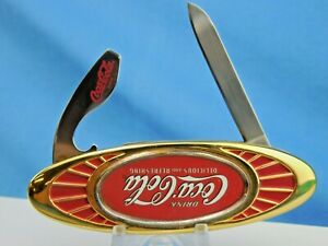 FRANKLIN MINT - COCA COLA  KNIFE - NOT SURE HOW OLD? - MINT CONDITION