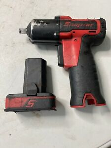 Snap On Ct761 14 4v 3 8 Cordless Impact W One Ctb8172 Battery Used