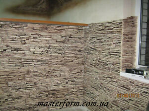 Stone Polyurethane Decorative Stamp For Concrete And Plaster venice For Tracks