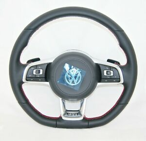 New Oem Vw Golf Polo Jetta Scirocco Gti Multifunction Complete Steering Wheel