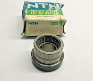 Ntn Nkxz20 Needle Roller Bearing W Thrust Ball Brg Inner Ring 20 X 43 X 30mm