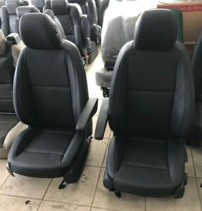 2016 2018 Mercedes Benz Metris Van Black Leatherette Front Bucket Seats Sprinter