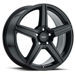 16 Inch Voxx Como 4 Wheel Rims 16x7 40mm 5x112 120 Gloss Black