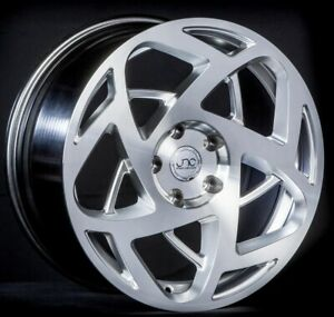 Set 4 Jnc Wheels Jnc047 19x9 5 10 5 5x120 35 30 Hyper Silver Machine Face