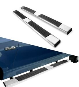 6 Oval Running Boards Compatible With 2010 2020 Dodge Ram 2500 3500 Quad Cab