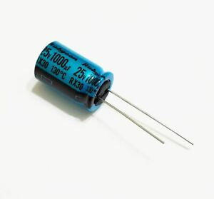 1000uf 25v Rubycon Electrolytic Radial Lead Capacitor 1 Piece