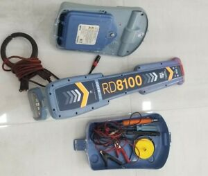 Spx Radiodetection Rd8100 Pdl Utility Locator Receiver Rd8100pdl 4 Clamp Tx10