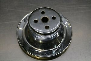 Oem Ford Water Pump Pulley Chromed F150 Mustang Ii Thunderbird D8ae 8509 Aa