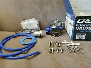 Trust Greddy Type Fv Universal Adjustable 40mm Blow Off Valve Bov With Extras