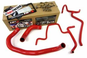 Hps Red Silicone Radiator Hose Kit For 05 10 Challenger Charger 300c Srt8