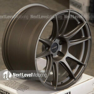 Circuit Cp32 18 9 18 10 5 5 114 3 Flat Bronze Wheels Staggered Fit Nissan 350z