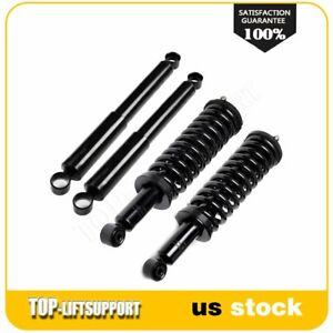 For 1995 04 Tacoma Front Rear Pair Complete Struts Assembly W Springs