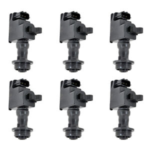 Quality Ignition Coil 6pcs For 1998 2000 Nissan Skyline Stagea 2 5l 22448 aa100