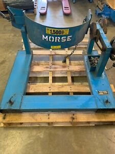 Morse Manual Forklift Carrier Drum Lifts Heavy duty
