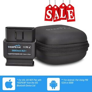 Veepeak Obdcheck Ble Car Diagnostic Code Reader Scan Tool Bluetooth 4 0 new