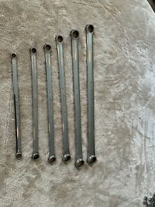 Snap On 15 Degree Offset Wrench Set Metric 6 Pc