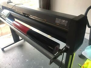 Graphtec Fc5100 130 60 Plotter Vinyl Cutter Cnc Working