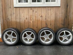 C5 Corvette Oem Wheels And New Goodyear Eagle F1 Runflat Tires