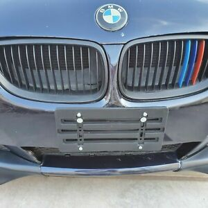 License Plate Tag Holder Mounting Relocator Adapter Bumper Kit Bracket For Bmw