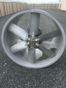 48 Tube Axial Duct Fan 50hp 3 Phase 1800 Rpm