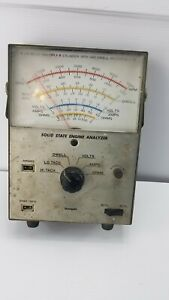 Vintage Sanpet Solid State Engine Analyzer Untested No Cables