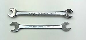 Proto Wrench Lot 3751 3021 3 8 Open End Flare Line Nut Combination Offset Sae