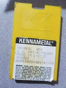 10 Pcs Kennametal Ng 2062l K 68 Lathe Carbide Inserts Grooving Cut Off New