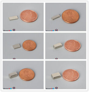 Multiple Thickness Size 9 5mm 3 8 width Square Rare Earth Neodymium Block Magnet