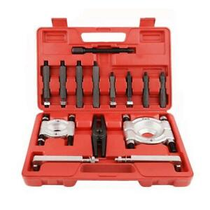 Bearing Separator Puller Kit 2 And 3 Splitters Remove Bearings Tool Set 14pcs