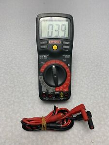 Craftsman Professional Industrial Multimeter Thermometer Model 82337 Euc Z3