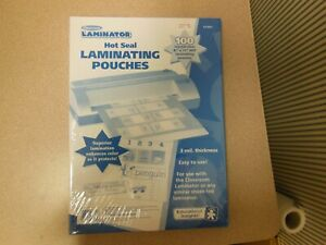 Educational Insights Hot Laminating Pouches 8 5x11 Package Of 100