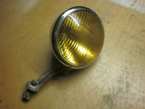 Vintage Fog Lamp Circa 40 S 50 S With Bracket Appleton King Bee