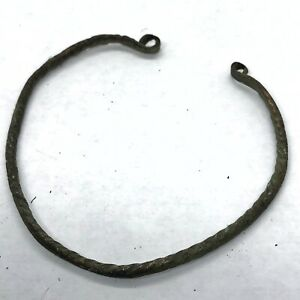 800 1100 Ad Norse Viking Authentic Ancient Bracelet Artifact Antiquity Relic