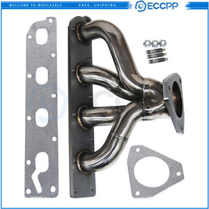 Eccpp Stainless Header Exhaust Manifold For 05 10 Chevy Cobalt Hhr Ion 2 2 2 4
