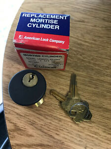 New old Stock American Lock Mortise Cylinder Schlage E Keyway